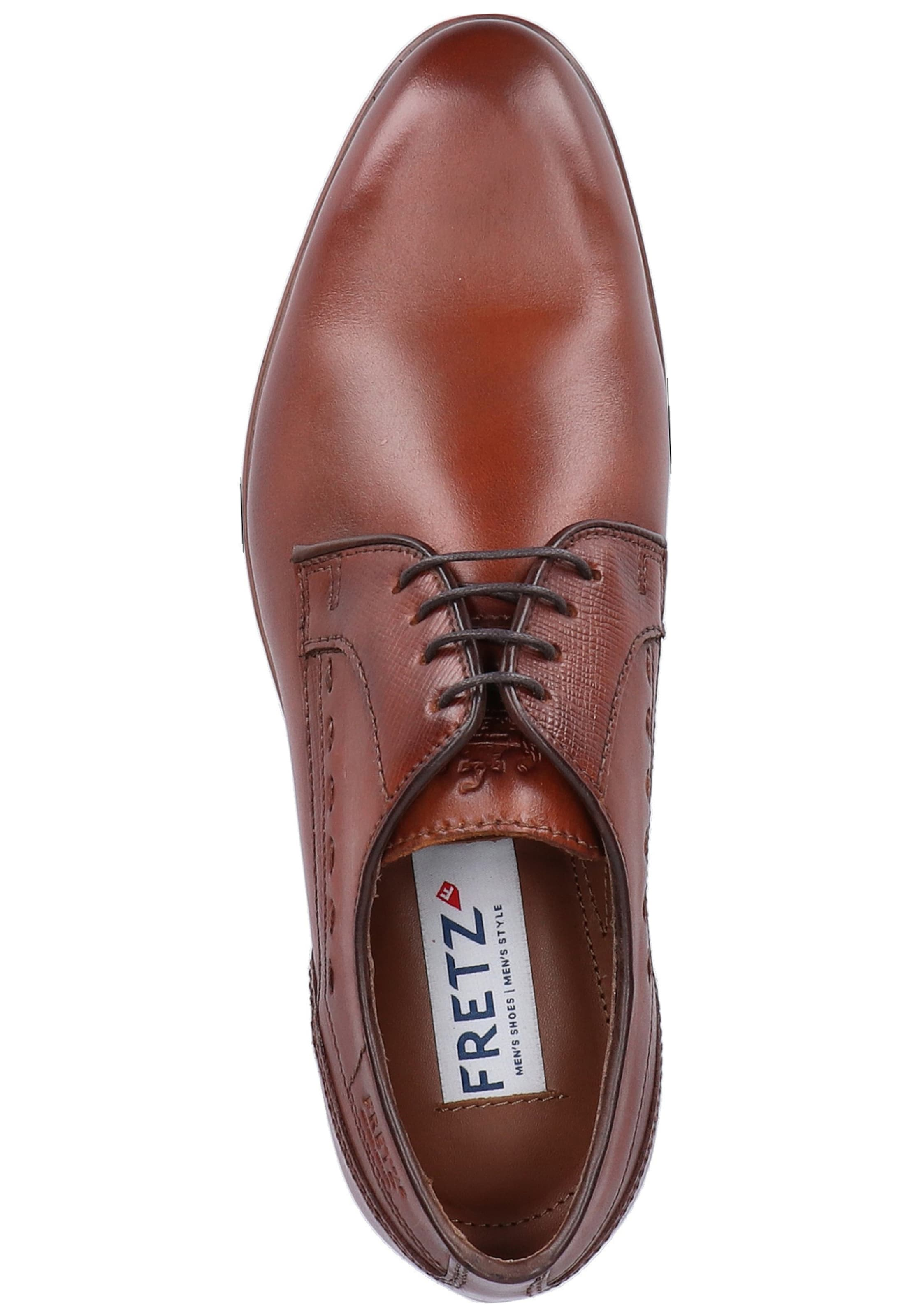 En Marron À Lacets Fretz Men Chaussure dCWQoxrBe