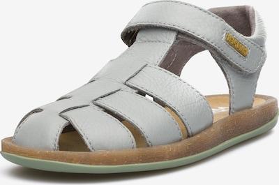 CAMPER Sandale 'Bicho' in grau: Frontalansicht