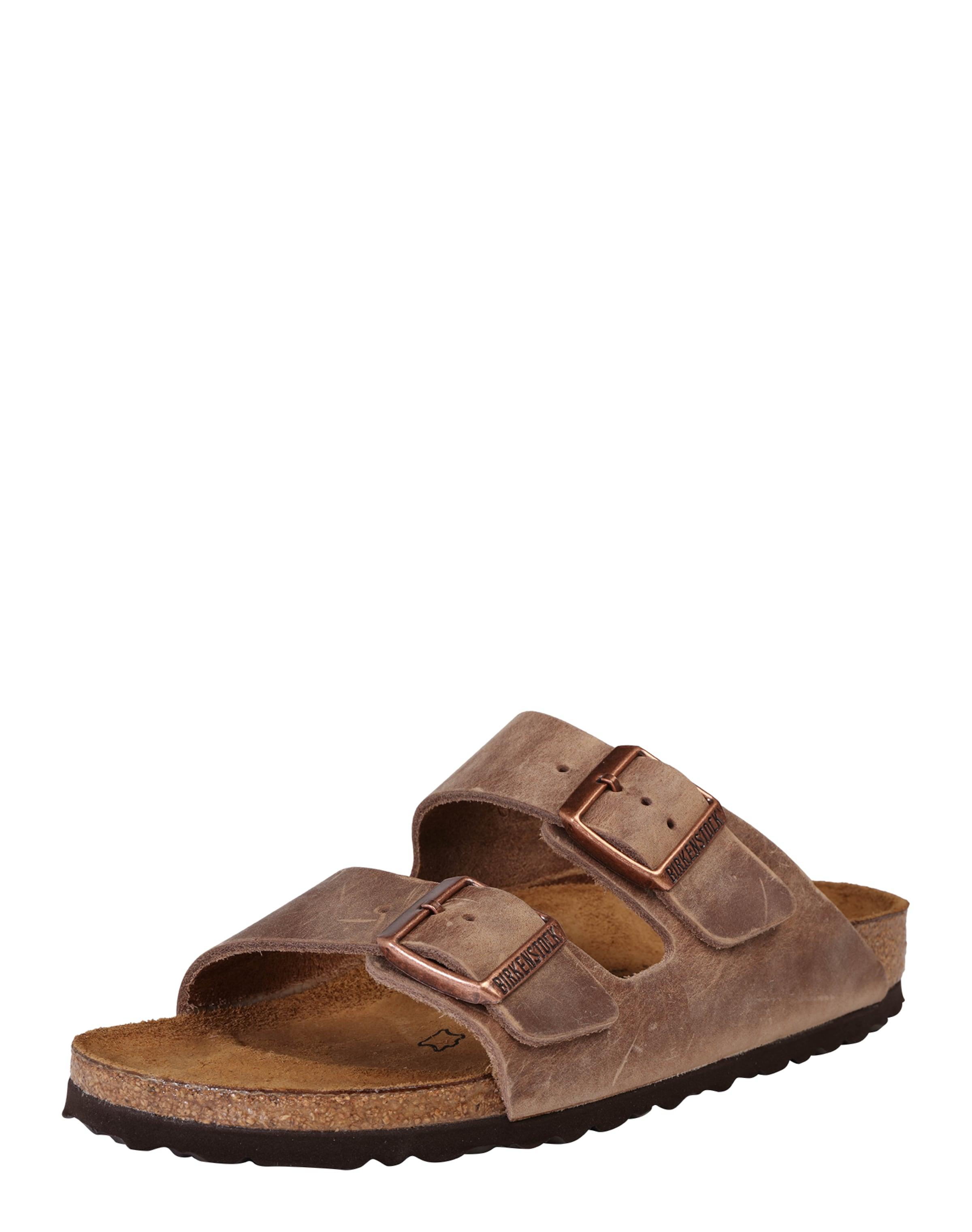In Braun 'arizona' Birkenstock Schmale Sandale K1FJcl