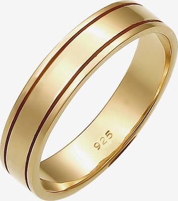 ELLI PREMIUM Ring 'Ehe, Basic' in Goud