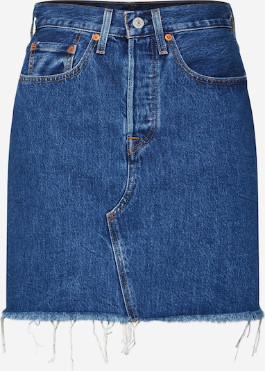 LEVI'S Rock 'HR DECON ICONIC BF SKIRT' in blue denim, Produktansicht