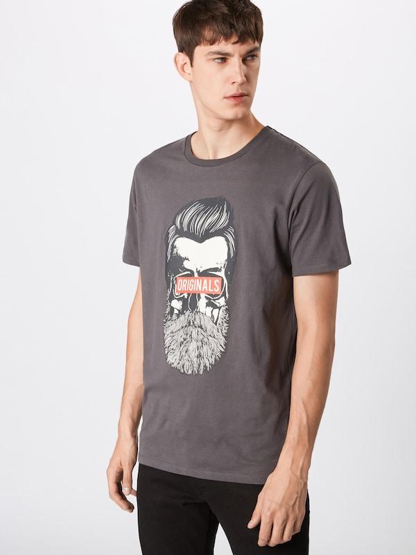 En Jackamp; 'jorugga' Jones Gris Foncé T shirt iuOTkPXZ