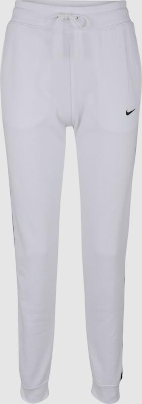 ce8c2394ee0 Nike Sportswear Broek 'W NSW PANT LOGO TAPE' in Wit | ABOUT YOU