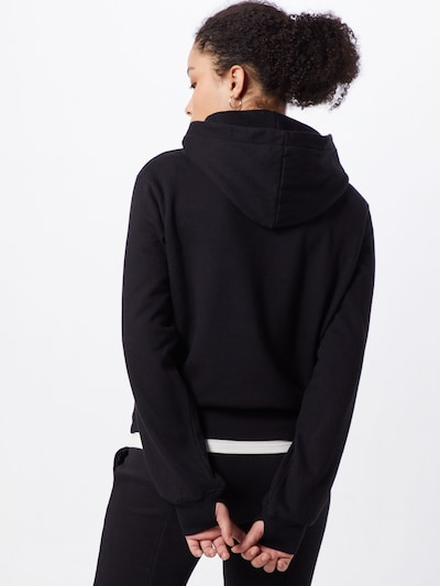 Ragdoll LA Majica 'Pull On Hoodie' | črna barva: Pogled od zadnje strani