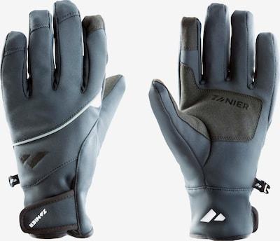 Zanier Handschuhe in pastellblau / basaltgrau, Produktansicht