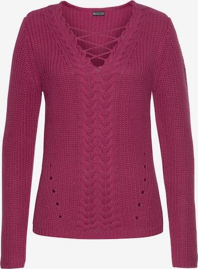 LAURA SCOTT Pullover in dunkelrot, Produktansicht