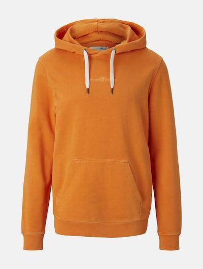 TOM TAILOR DENIM Hoodie in orange, Produktansicht
