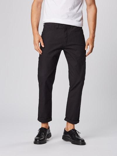 LEVI'S Jeans 'HIBALLUTILITY' in black denim, Modelansicht