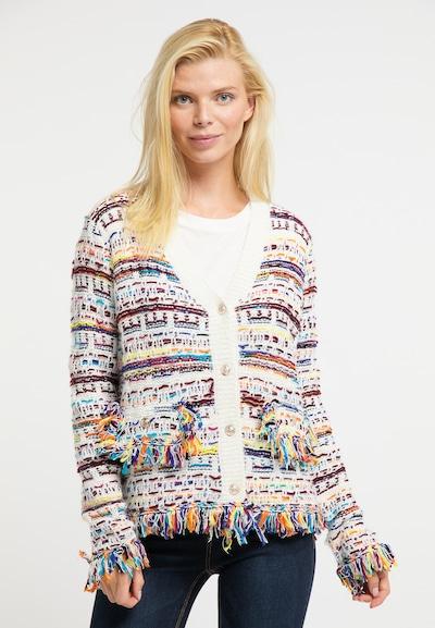 Usha Pullover in mischfarben / weiß, Modelansicht