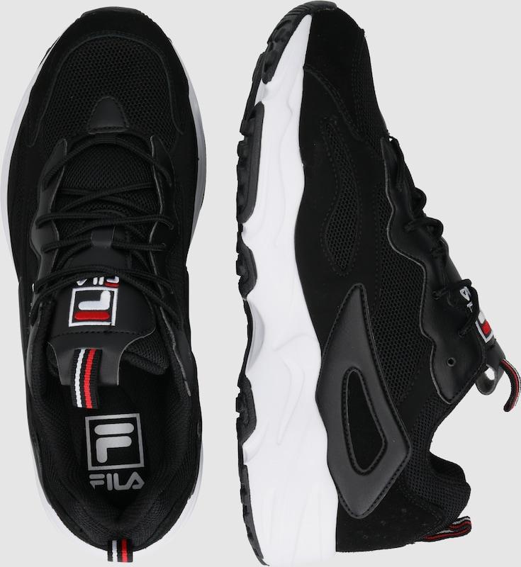 FILA Rövid szárú edzőcipők 'Disruptor' fekete színben