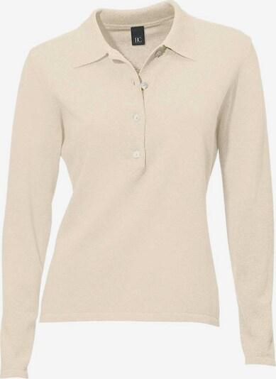 heine Polo-Pullover in creme, Produktansicht