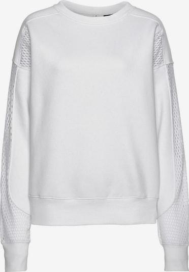LASCANA Sweatshirt 'Technical Red' in weiß, Produktansicht