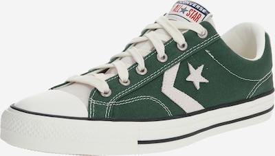CONVERSE Sneakers laag 'STAR PLAYER - OX' in de kleur Donkergroen / Wit, Productweergave