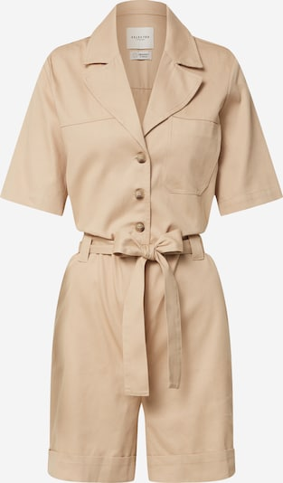 SELECTED FEMME Jumpsuit in hellbeige, Produktansicht