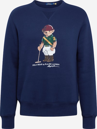 POLO RALPH LAUREN Sweater majica u mornarsko plava, Pregled proizvoda
