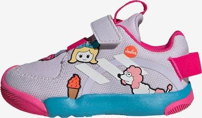 ADIDAS PERFORMANCE Schuh in pastelllila / mischfarben: Frontalansicht