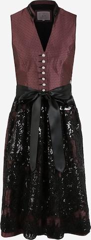 Rochițe tiroleze '015 Hakima' de la MARJO pe roșu