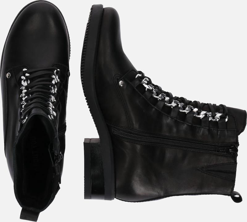 Noir Lacets Bottines 'elina' À En kXiPZu