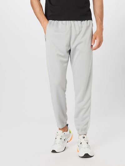 Nike Sportswear Püksid 'Heritage' sinine / helehall / punane / valge: Eestvaade
