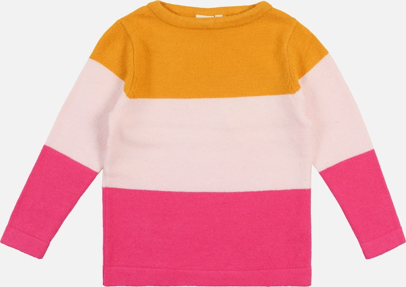 NAME IT Pullover 'VULIA' in orange / pink: Frontalansicht