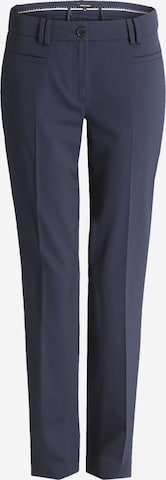 MORE & MORE Hose mit Bügelfalte 'Hedy' in Blau