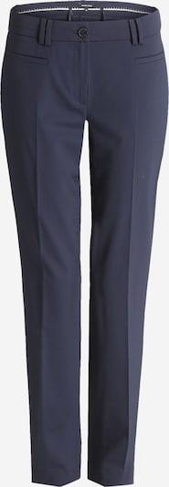 MORE & MORE Trousers with creases 'Hedy' in Marine, Item view