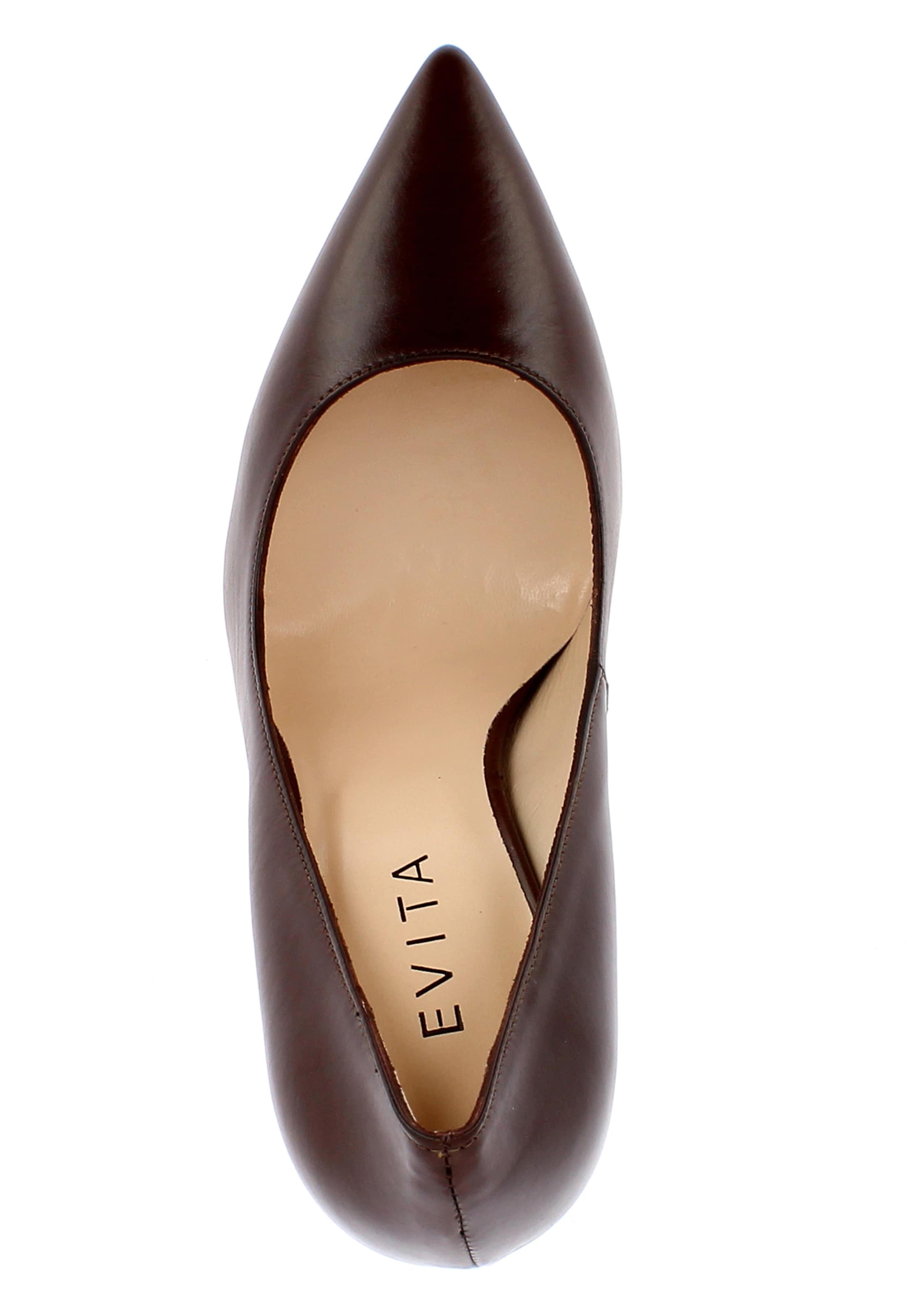 Evita Evita Pumps Kastanienbraun Pumps In In MUzVpS
