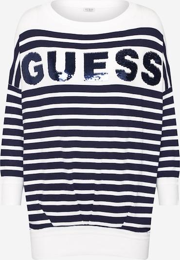 GUESS Džemperis 'MEGAN' pieejami kamuflāžas / balts, Preces skats