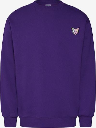 PARI Sweatshirt 'Paula' in de kleur Pruim, Productweergave