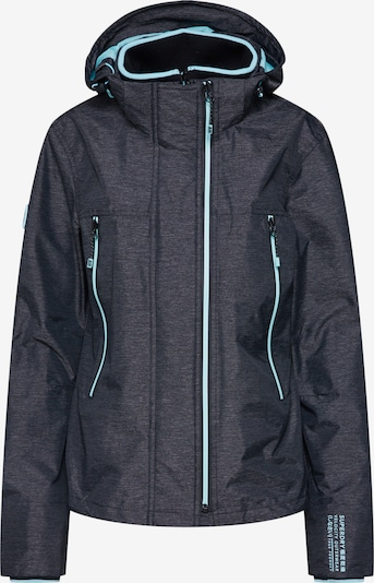 Superdry Jacke in graphit: Frontalansicht