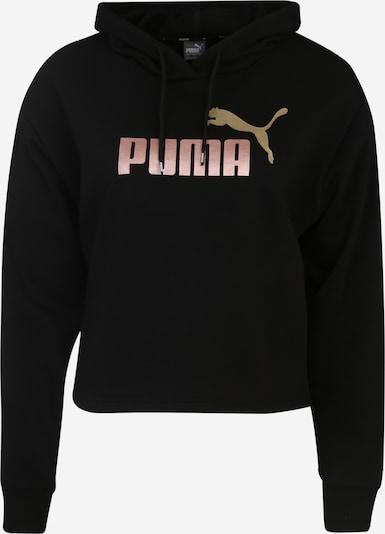 PUMA Sportief sweatshirt 'ESS+ Metallic' in de kleur Rosé / Zwart, Productweergave