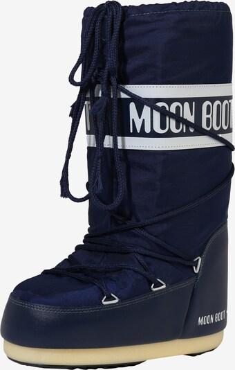 MOON BOOT Snowboots 'Nylon' in blau, Produktansicht