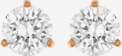 Swarovski Earrings in Rose gold / Transparent, Item view
