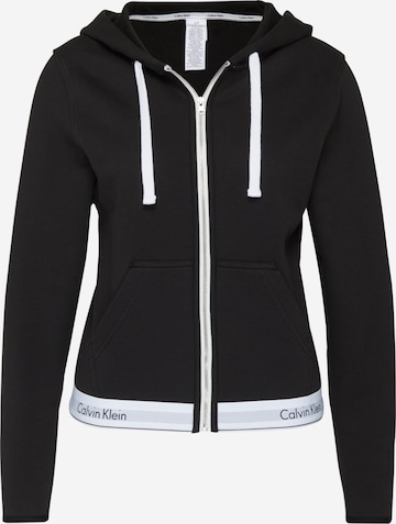 Veste de survêtement Calvin Klein Underwear en noir