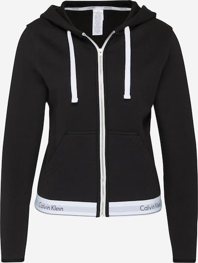 Calvin Klein Underwear Sweatjacke in schwarz: Frontalansicht
