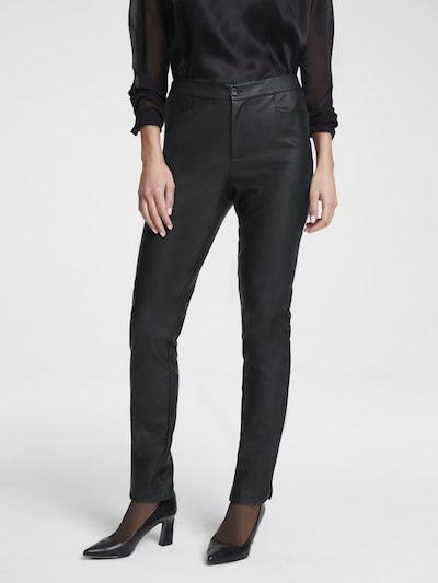 heine Hose 'Belena' in schwarz, Modelansicht