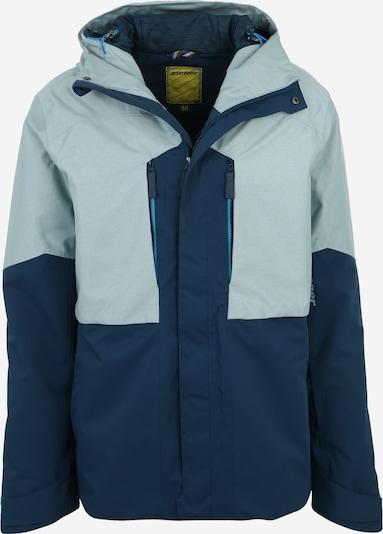 ZIENER Športna jakna 'THILO' | mornarska / svetlo modra barva, Prikaz izdelka