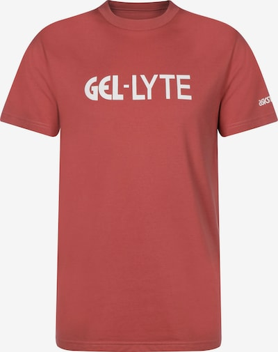 ASICS SportStyle T-Shirt ' GEL-Lyte ' in rot, Produktansicht