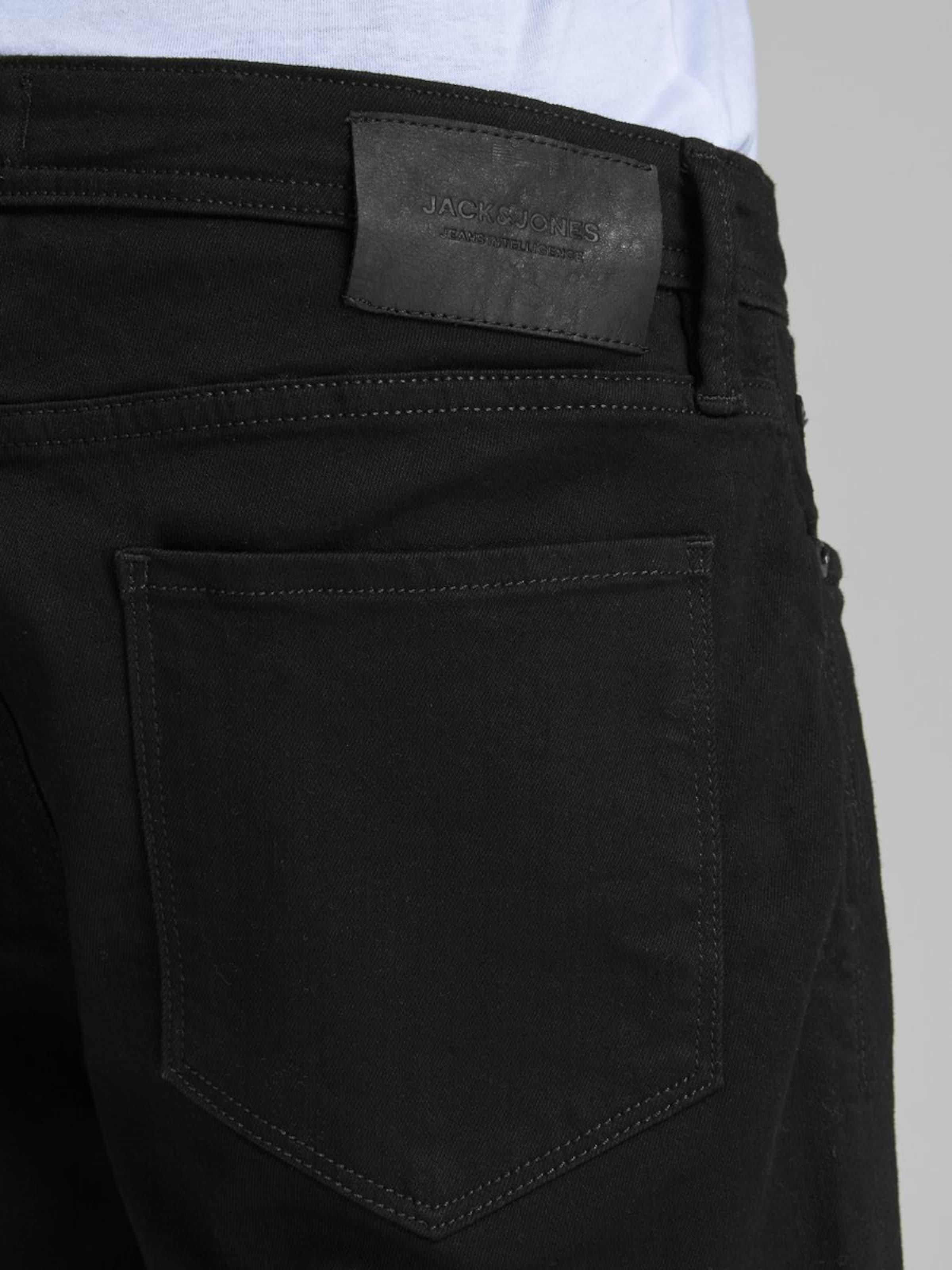 Jackamp; In Jones Jeansshorts Black Denim Superstretch hdsQtr
