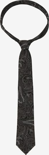 Jacques Britt Krawatte 'Custom Fit' in hellgrau / dunkelgrau, Produktansicht