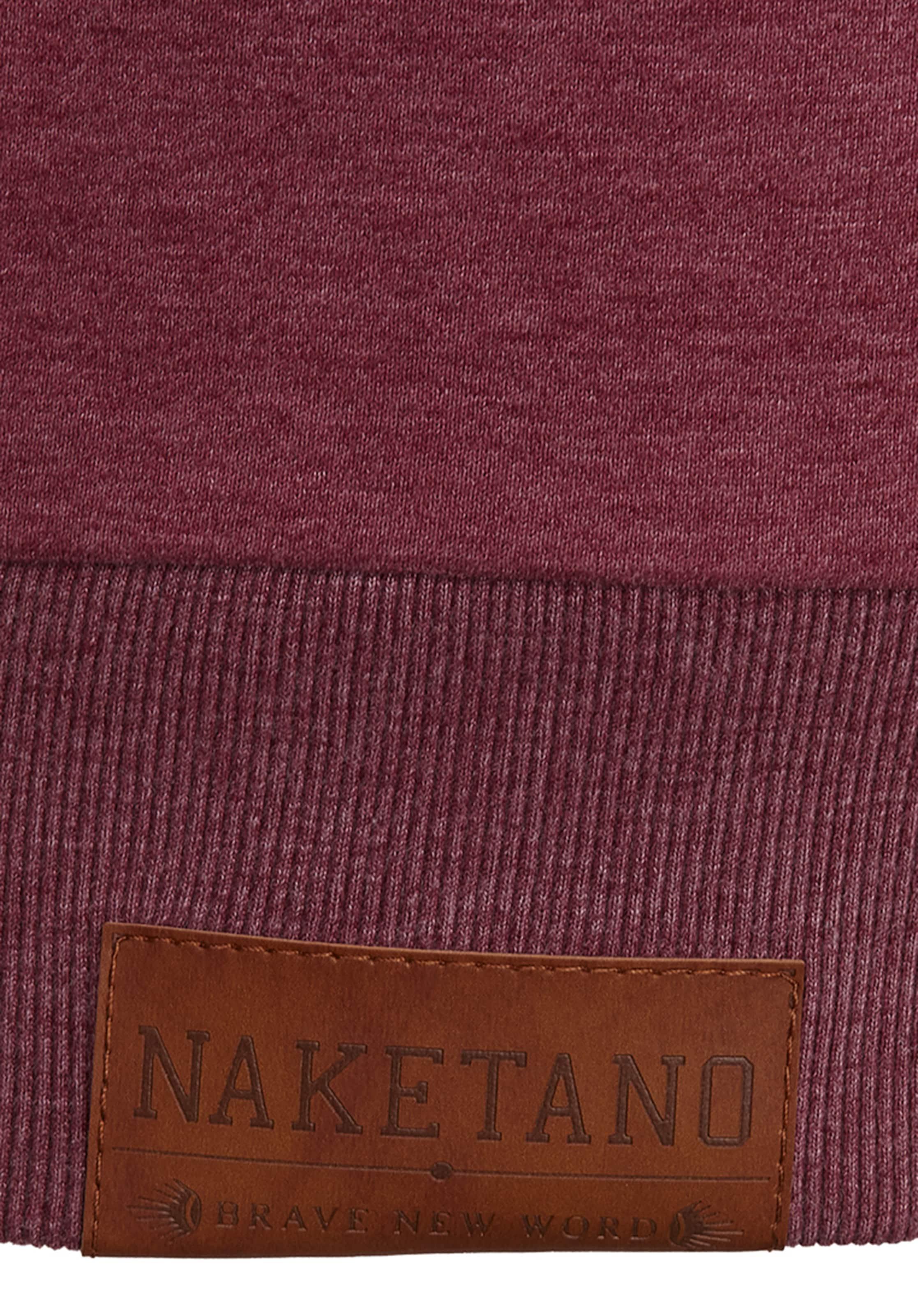 Longus' Sweat En Naketano shirt 'schwanzus Bordeaux rdthQCxs