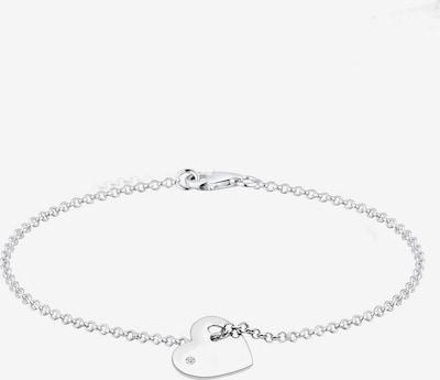 Diamore Bracelet en blanc, Vue avec produit