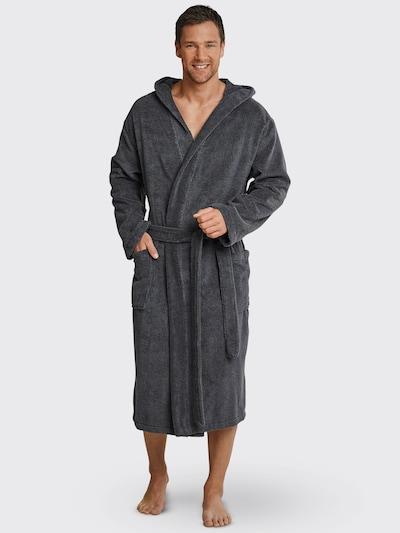 SCHIESSER Dugi kupaći ogrtač u siva, Prikaz modela
