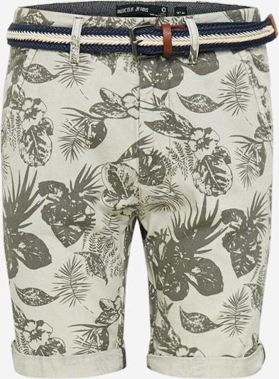 INDICODE JEANS Pantalon 'Grantly' en beige / vert, Vue avec produit