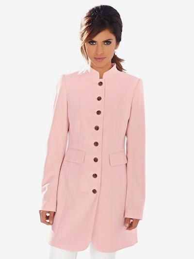 heine Jacke in rosa, Modelansicht