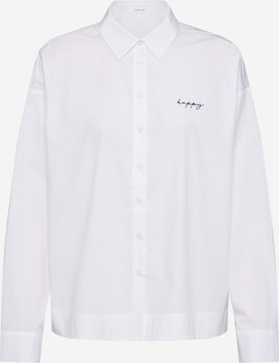 Bluză 'Flarine' OPUS pe alb, Vizualizare produs