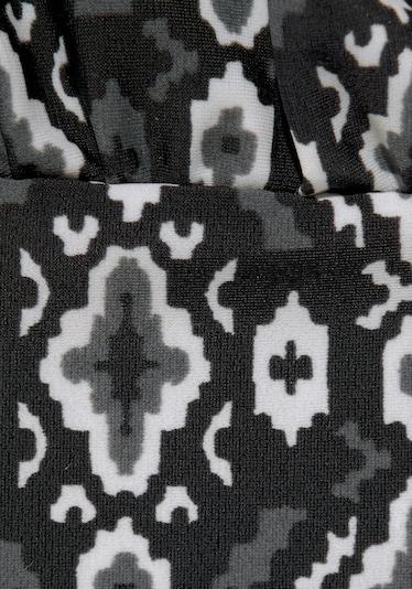 LASCANA Tankini w kolorze czarny / białym, Podgląd produktu