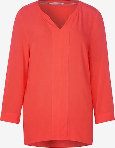 CECIL Bluse mit Materialmix in orange, Produktansicht