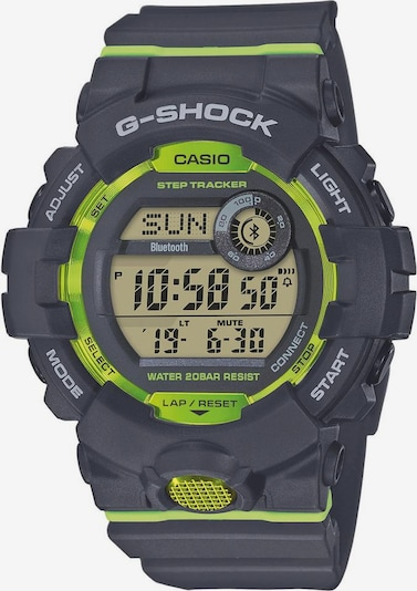 CASIO Chronograph 'GBD-800-8ER' in basaltgrau / neongrün, Produktansicht