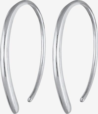 ELLI Boucles d'oreilles 'Geo' en argent, Vue avec produit